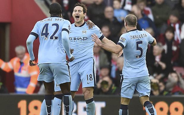 Khi Man City thiếu Yaya Toure, vai trò của Lampard càng trở nên quan trọng.
