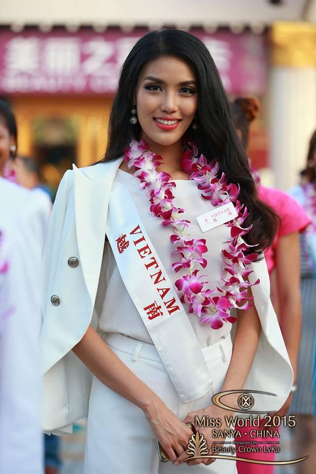 Người đẹp Lan Khuê của Việt Nam đã lọt top 10 thí sinh được bình chọn nhiều nhất.