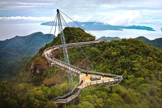Cầu treo uốn cong Langkawi Sky, Malaysia