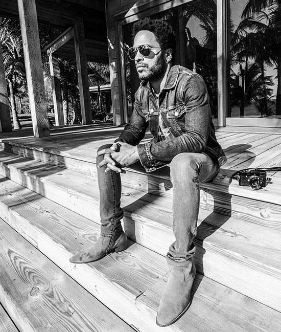Ngôi sao nhạc rock Lenny Kravitz đã thiết kế phiên bản Correspondent của chiếc Leica M-P