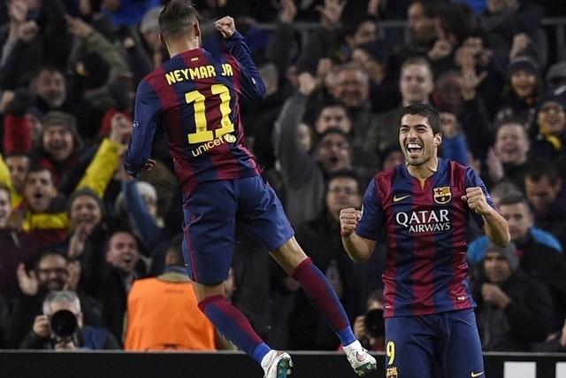 Neymar – Suarez đang thể hiện phong độ cực cao kể từ khi Messi dính chấn thương