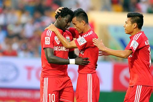 Đội đầu bảng B.Bình Dương sẽ đối đầu với đội bét bảng Đồng Nai
