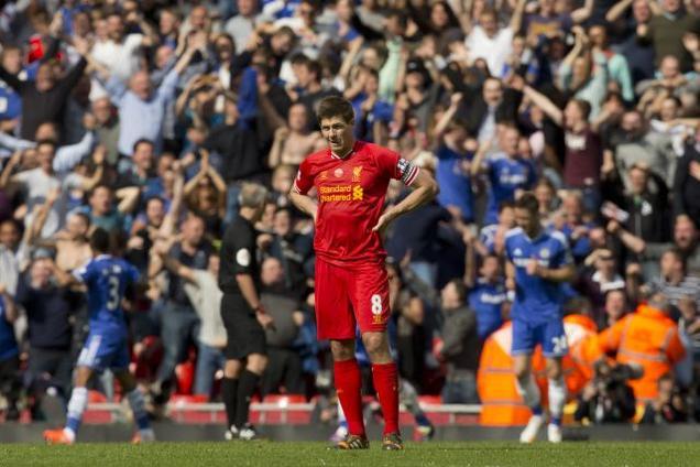 Khi thủ lĩnh Gerrard suy giảm phong độ, Liverpool thường yếu thế trước những đội bóng lớn, trong đó có Chelsea.