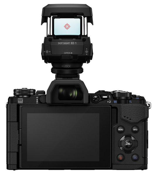 Máy ảnh E-M5 II với ống ngắm EE-1