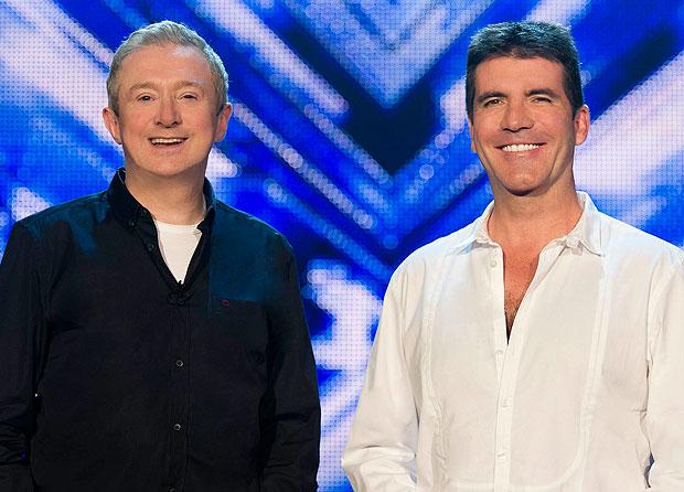 Louis Walsh và Simon Cowell từng là đồng nghiệp thân thiết.