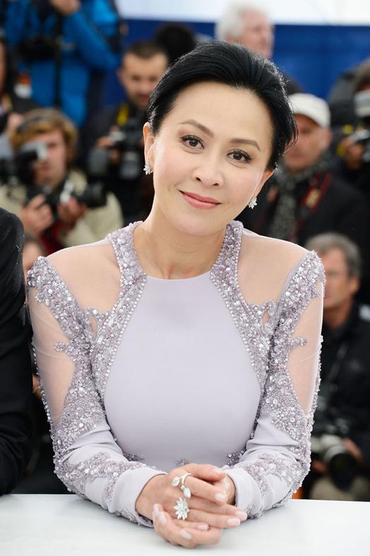 Lưu Gia Linh không muốn bình luận về những phát ngôn của Quan Chi Lâm. (Ảnh: redcarpet-fashionawards)