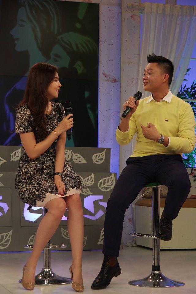 MC Mai Ngọc và bếp phó Quang Minh