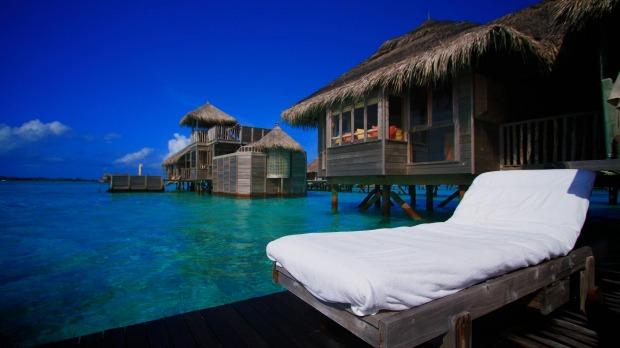 Khách sạn Gili Lankanfushi, Maldives đứng số 1 trong danh sách.