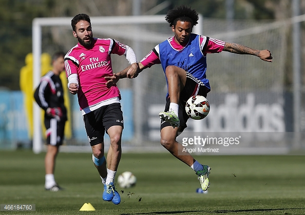 Carvajal và Marcelona tiếp tục gắn bó với Real trong nhiều năm nữa.