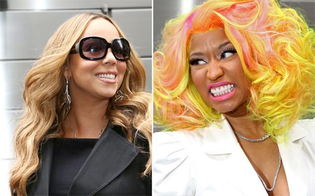 Mariah Carey và Nicki Minaj đã có nhiều mâu thuẫn khi tham gia American Idol trong vị trí giám khảo