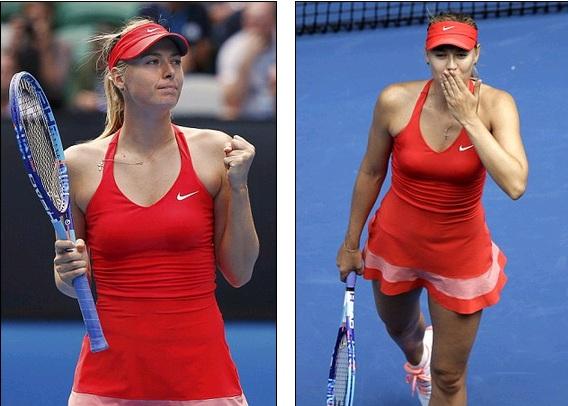 Masha từng toàn thắng trong cả 3 lần đọ sức với Bouchard.