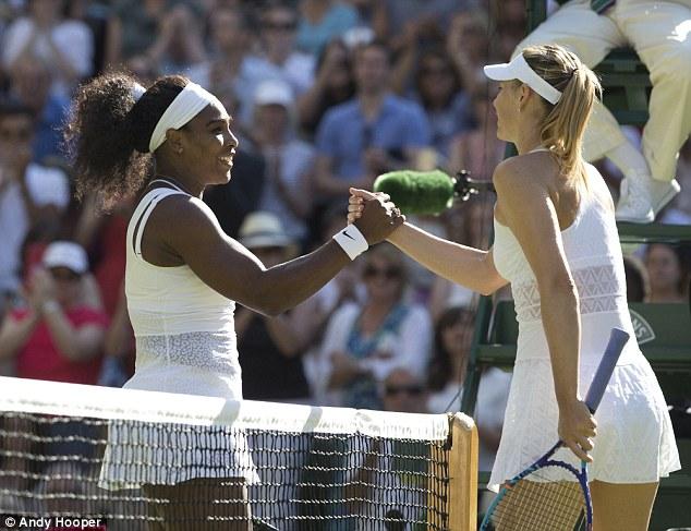 Serrena vẫn là bài toán nan giải với Masha (phải).
