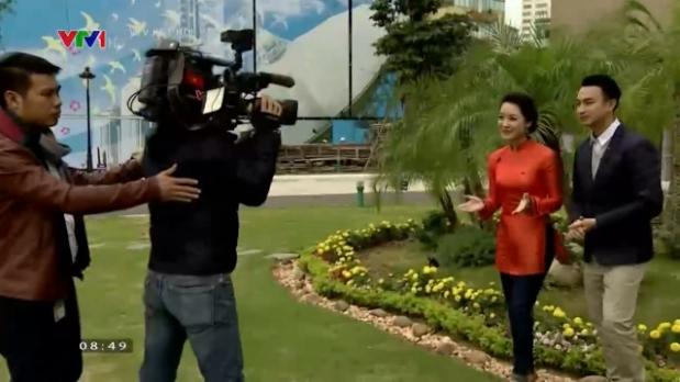 2 MC Thu Hà và Việt Phong sẽ đồng hành cùng khán giả trong chương trình Buổi sáng đầu tiên