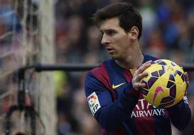Messi và các đồng đội đã có trận đấu không thành công với Levante.