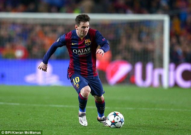 Ngoài khả năng ghi bàn định đoạt trận đấu, lúc này, Messi còn trổ tài kiến thiết.