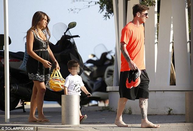 Sắp tới, gia đình nhỏ của Messi sẽ đón chào thành viên thứ 4.