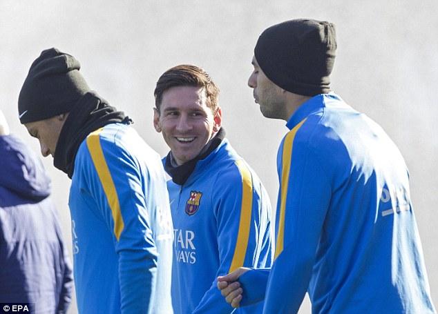 Messi trở lại khiến Barca ngày càng mạnh hơn.
