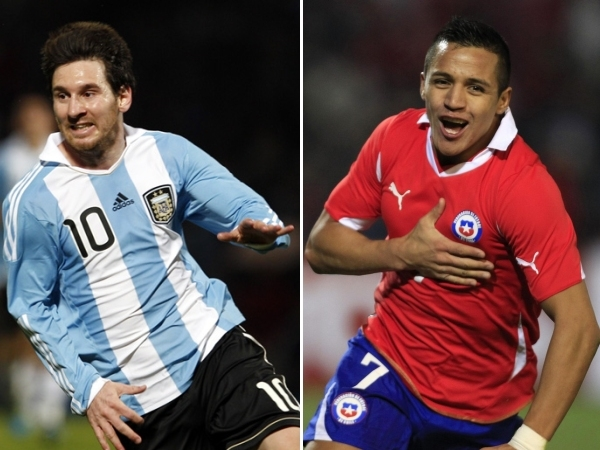 Messi và Alexis - hai ngôi sao sáng của hai đội từng chung chiến tuyến ở Camp Nou.