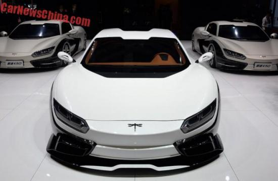 Siêu xe đầu tiên của Trung Quốc xuất hiện tại Shanghai Auto Show 2015