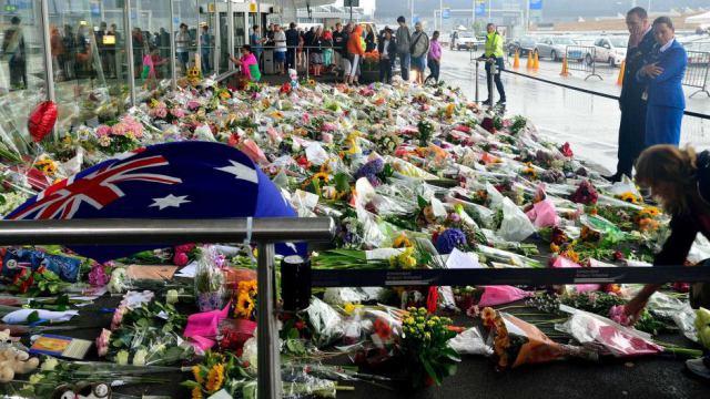 Nghi lễ tưởng nhớ các nạn nhân của vụ tai nạn được tổ chức tại Canberra, Úc vào hôm 16/7
