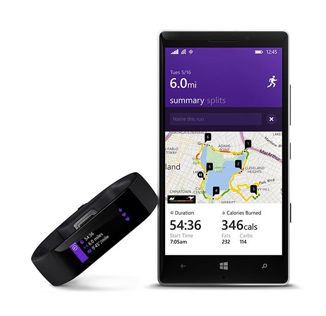 Thiết bị đeo tay thông minh Microsoft Band được bán với giá 199 USD