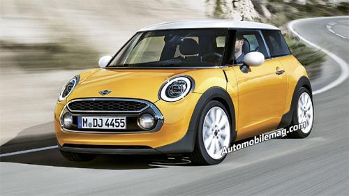 Hình ảnh mẫu xe Mini Minor mới (Nguồn: Automobile Magazine)