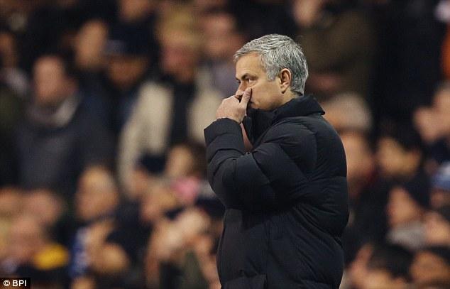 HLV Mourinho sốc sau thất bại trước Tottenham