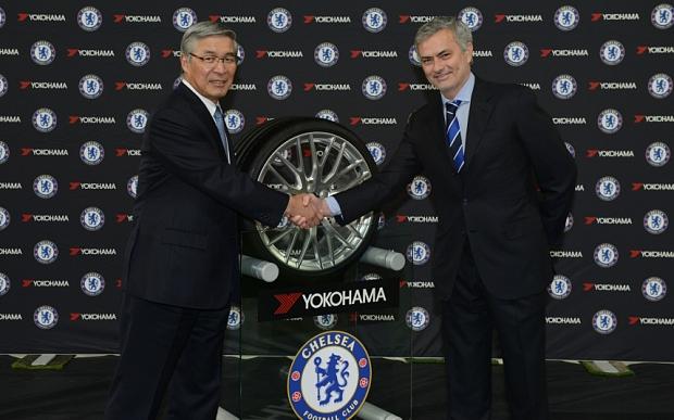 Hợp tác với Yokohama Rubber, Chelsea trở thành CLB kiếm tiền nhiều thứ 2 từ việc tài trợ áo đấu