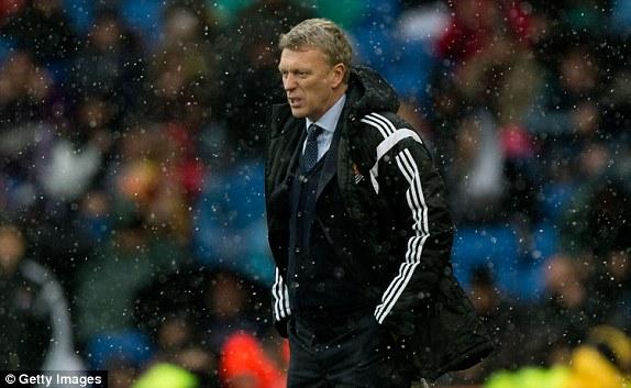 HLV Moyes đã thấm thía sự khó nhọc khi dẫn dắt Sociedad thi đấu tại La Liga, đặc biệt là phải đối đầu với Real.