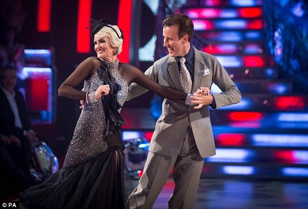 Bà Judy Murray còn tham dự Bước nhảy hoàn vũ tại Anh.