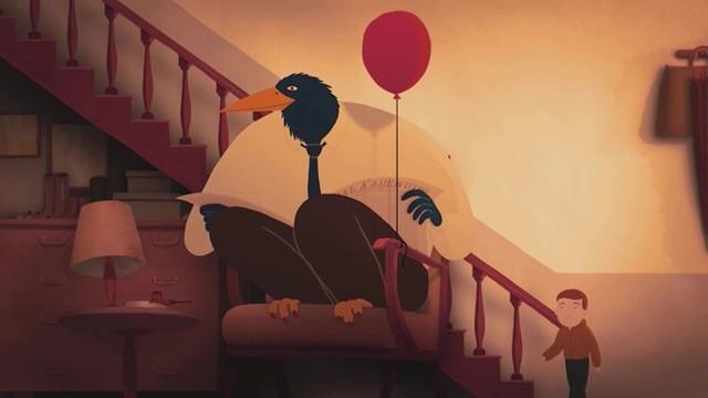 Một hình ảnh trong bộ phim hoạt hình My home.