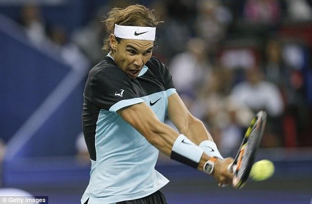 Nadal từng hai lần đi tới chung kết ATP World Tour Finals nhưng thất bại cả hai lần trước Roger Federer (2010) và Novak Djokovic (2013).