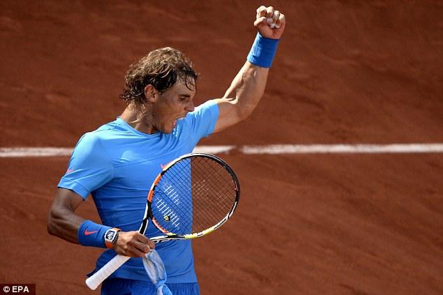 Rafa tư tin sau khi xác lập kỷ lục 70 trận thắng ở Roland Garros