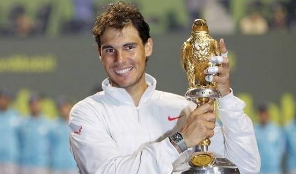 Nadal với chức vô địch tại Qatar Open 2014