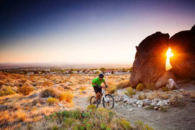 Xe đạp leo núi ở New Mexico. (Ảnh: Lonely Planet)