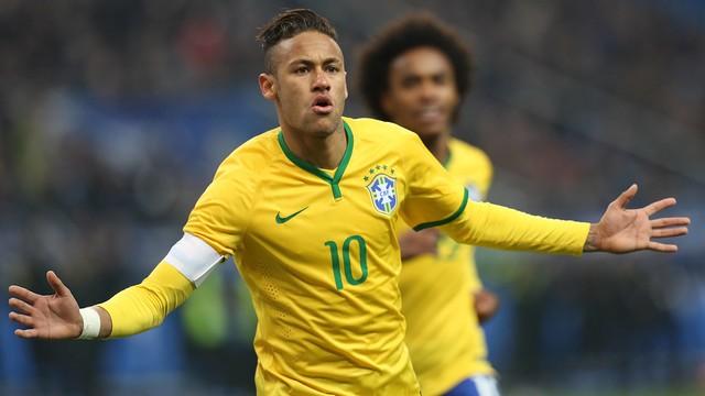 Neymar ngôi sao sáng nhất trong đội hình Brazil tham dự Copa America 2015