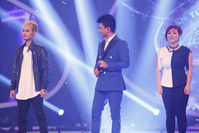 Ngọc Việt chia tay Vietnam Idol trong Gala 3.