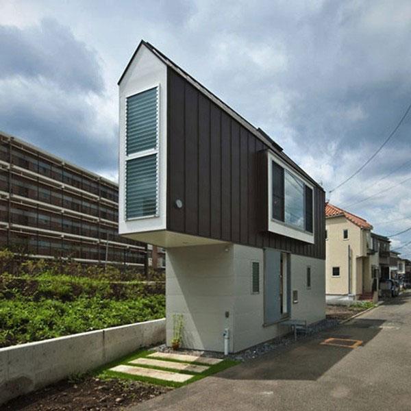 Ngôi nhà có cấu trúc gọn gàng, hợp với không gian đô thị hiện đại.