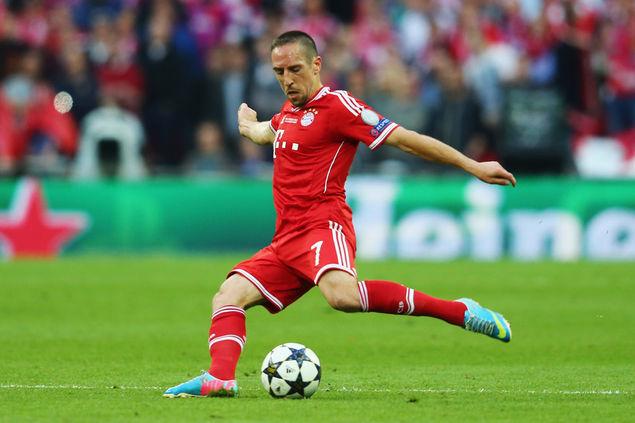 Thiếu Ribery, Bayern Munich đã phải trả giá.