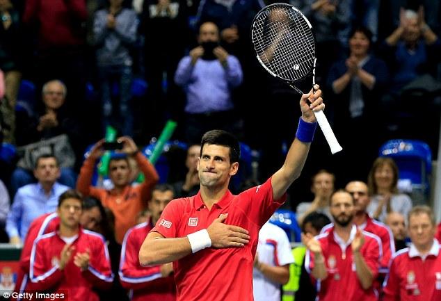 Là tay vợt số 1 thế giới, Nole dễ dàng giúp ĐT Serbia có được những trận thắng dễ trước Croatia.