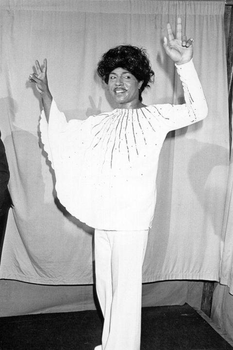 Một bộ cánh khá khó hiểu của Little Richard tại Grammy 1974