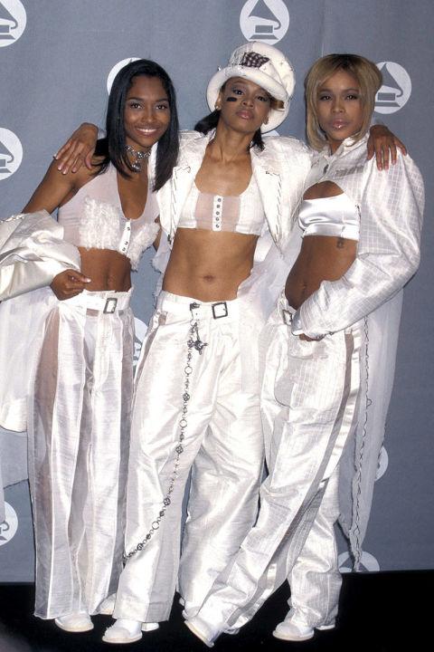 Xu hướng Croptop thời thượng đã được nhóm nhạc TLC trưng dụng ngay từ năm 1996