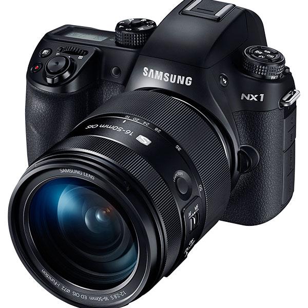 NX1 28,2 MP Smart 4K Camera đi kèm ống kính S lens 16-50 mm