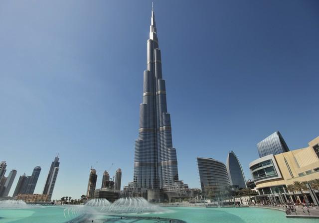 Cao ốc Burj Khalifa ở Dubai