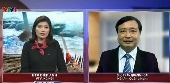 Chương trình Vấn đề hôm nay kết nối với ông Trần Quang Hoài ở Hội An, Quảng Nam để bàn về vấn đề sạt lở biển Cửa Đại.