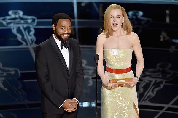 Nam diễn viên Chiwetel Ejiofor và thiên nga của nước Úc - nữ diễn viên Nicole Kidman.