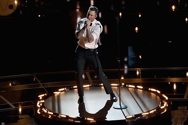 Adam Levine đã biểu diễn ca khúc Lost Stars trong phim Begin Again. Ca khúc này cũng đã nhận được một đề cử cho hạng mục Ca khúc nhạc phim xuất sắc. Ngoài vai trò ca sĩ, Adam cũng tham gia một vai thứ chính trong bộ phim này.
