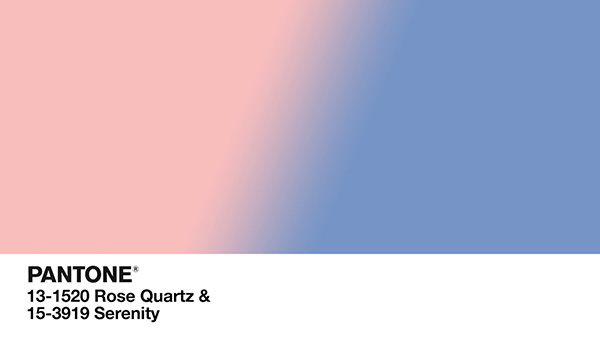 Màu hồng thạch anh và màu trời xanh thanh bình còn có ý nghĩa xóa bỏ ranh giới giới tính, tạo ra xu hướng cho năm 2016