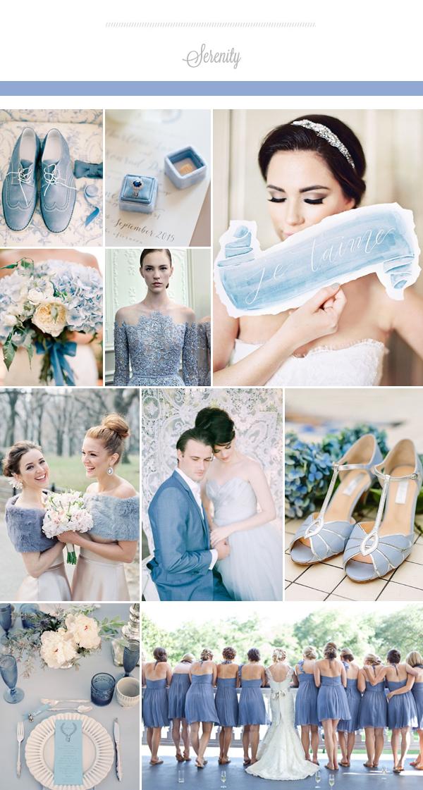 Trong trang trí đám cưới, màu xanh thiên thanh nhạt khiến không khí tiệc lãng mạn, nhẹ nhàng nhưng vẫn sang trọng và gợi cảm giác bình an