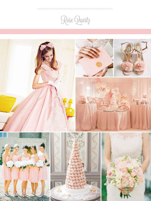 Trong khi đó, màu hồng thạch anh được nhiều cô dâu yêu thích vì đây là gam màu trẻ trung, lãng mạn, nữ tính và dịu dàng